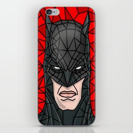 VITRAL BAT HUMAN iPhone Skin