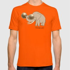 Trunk Day Mens Fitted Tee Orange X-LARGE