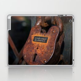 Rusty Lock Laptop & iPad Skin