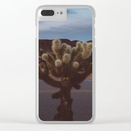 Cholla Cactus Garden XVI Clear iPhone Case