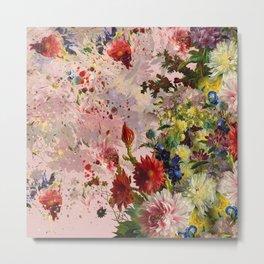 oil flower Metal Print