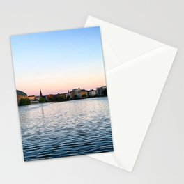 Clear & Blurry Lake Stationery Cards