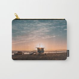 California Lifeguard Tower Carry-All Pouch