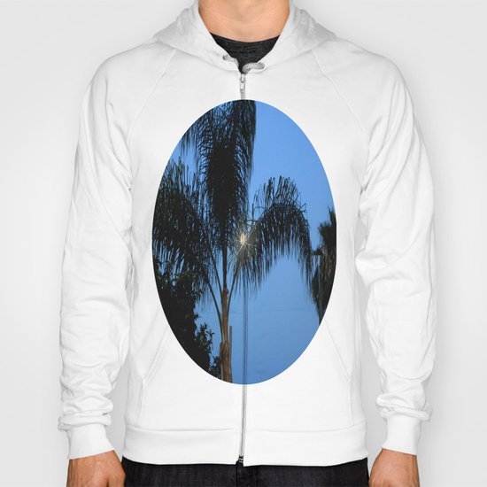 Moonlight through the Palms, Southern California Hoody