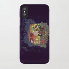 Les Hipsters Mystérieux  Slim Case iPhone X