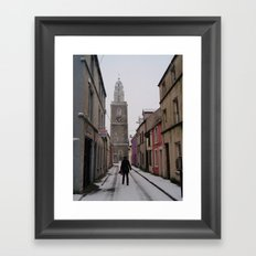Guesthouse Christmas  Framed Art Print