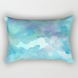 Breathing Under Water Rectangular Pillow