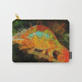welcome to the jungle, abstract chameleon Carry-All Pouch
