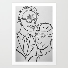 The Mads Art Print