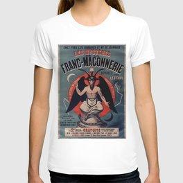 Old sign / Les Mystères de la franc-maçonnerie T-shirt