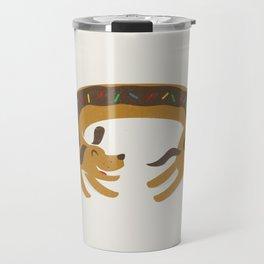 Sprinkled Dognut Travel Mug