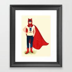 Red Hood Anapoda Framed Art Print