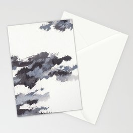 clouds_november Stationery Cards
