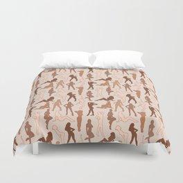 Femmes Diverses Duvet Cover