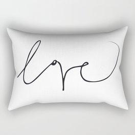 LOVE NO3 Rectangular Pillow