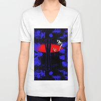 portal V-neck T-shirts featuring Portal by Spew Jersey