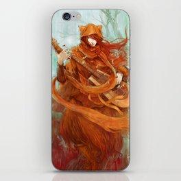 wandering minstrel iPhone Skin