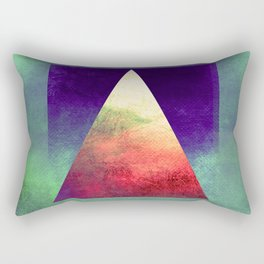 Triangle Composition VII Rectangular Pillow