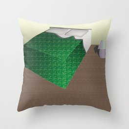 Bed Song Throw Pillow