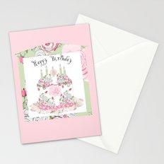 Happy Birthday Party Stationery Cards