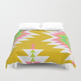 Bohemian shapes Duvet Cover
