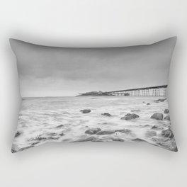 Birnbeck Pier Rectangular Pillow
