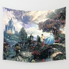 Cinderella - A Dream Is A Wish Your Heart Makes Wall Tapestry