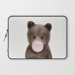 Bubble Gum Bear Cub Laptop Sleeve