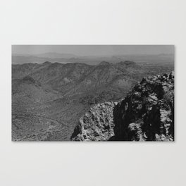 View From Squaw Peak Canvas Print
