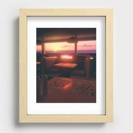 OFFLINE #3 Recessed Framed Print