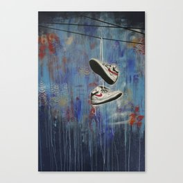 Nike Toss Canvas Print