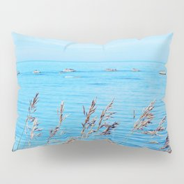 Circle of Rocks and the Tall Grass Pillow Sham
