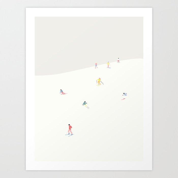 SKIBAKKEN Art Print