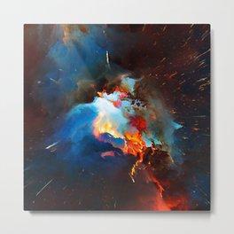 Siméla (Abstract 52) Metal Print
