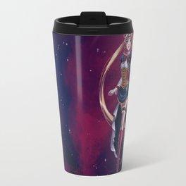 Steampunk Pretty Soldier Travel Mug