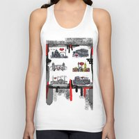 cities Tank Tops featuring Cities 2 by sladja