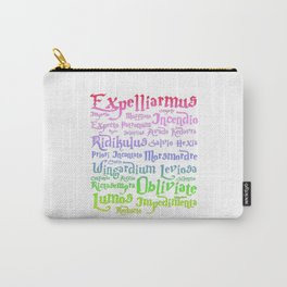 magic spelling harry Carry-All Pouch