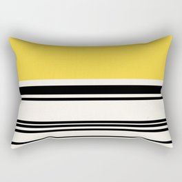Code Yellow Rectangular Pillow