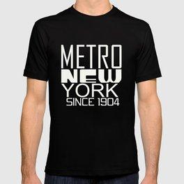 Metro New York since 1904 T-shirt