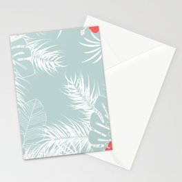 Tropical pattern 041 Stationery Cards