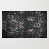 chandelier Area & Throw Rugs featuring city chandelier by Bryan Willis Thompson