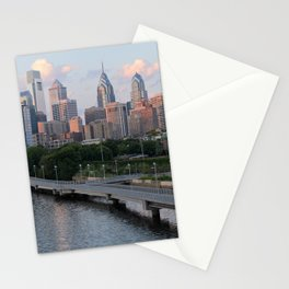 city view Stationery Cards