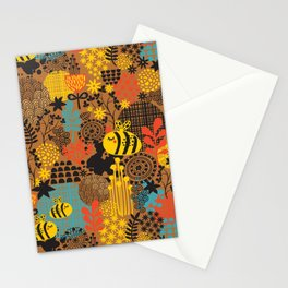 The bee. Stationery Cards