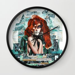Wildling, you make my heart sing Wall Clock