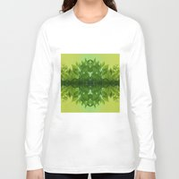 leaf Long Sleeve T-shirts featuring Leaf by Cs025