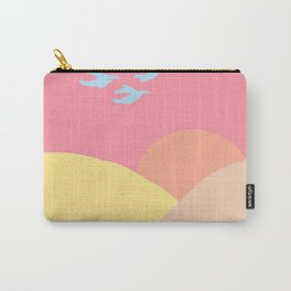 Pastel Sun  Carry-All Pouch