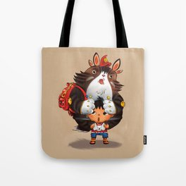 Bag Raccoon Monster Tote Bag