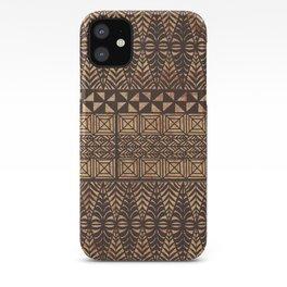 UrbanNesian Tongan Ngatu iPhone Case