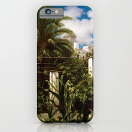 Frederic Leighton Garden of an Inn, Capri iPhone Case