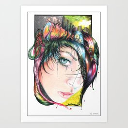 Mind Pollution Art Print